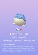 Spheal Pokedex