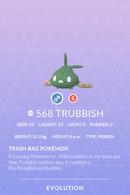 Trubbish Pokedex