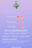 Wormadam Pokedex