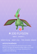 Flygon Pokedex