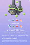 Weezing Galarian Pokedex