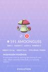 Amoonguss Pokedex