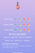 Burmy Trash Pokedex