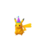 Pikachu female party shiny.png