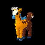 Girafarig female shiny.png
