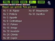 Ataques de Riolu