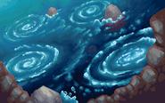HGSS Whirl Islands-Night