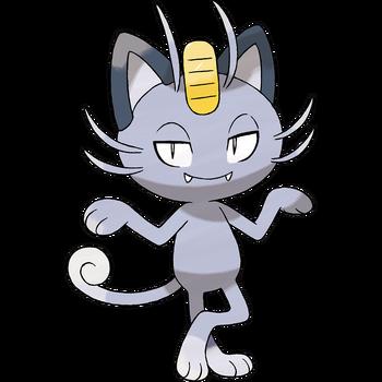 Alolański Meowth