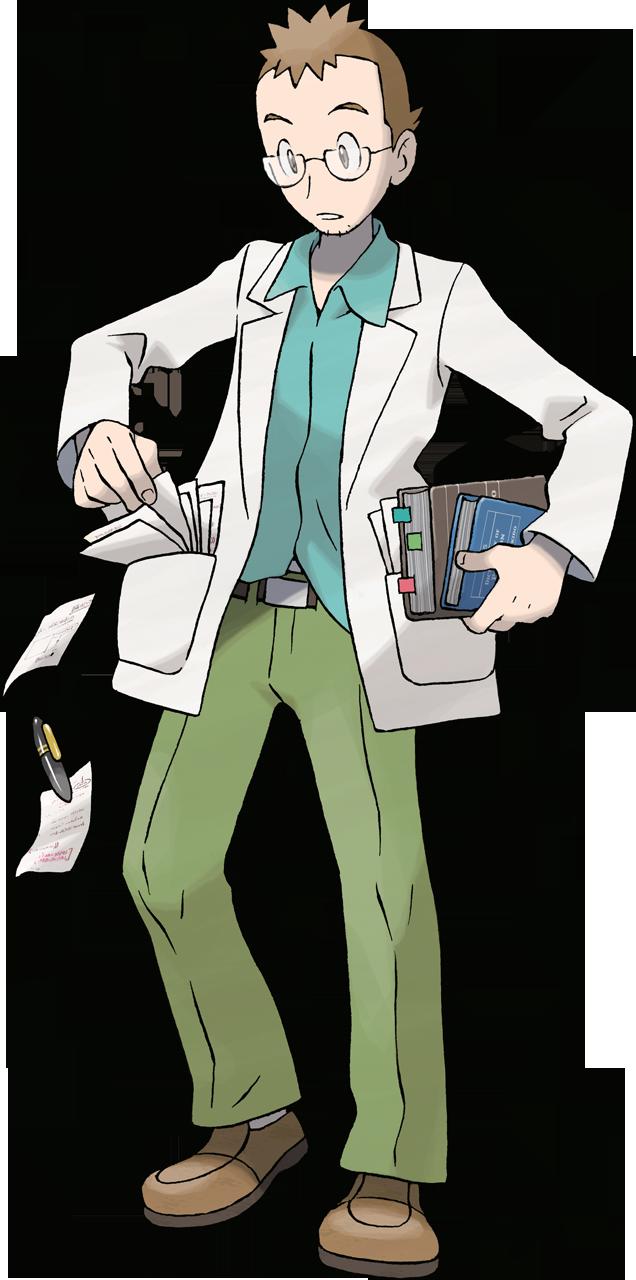HeartGold SoulSilver Professor Elm.png