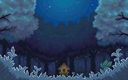 HGSS Ilex Forest-Night