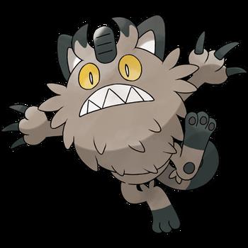 Galariański Meowth
