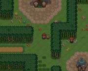 A screenshot of Verdant Garden on Easter Island.