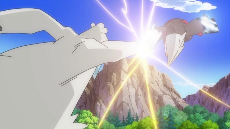 Iris e Excadrill Contra a Exterminadora de Dragões!