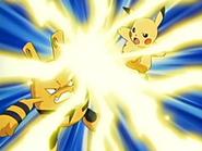 EP036 Elekid vs Pikachu
