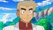 Professor Oak BW anime