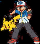 Ash e Pikachu 10
