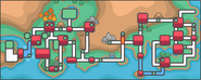 Kanto Victory Road Map