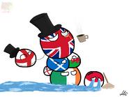 Great Britan and Polska