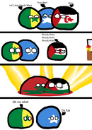 Countryball Comics-Blody Morocco