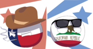Texas and california