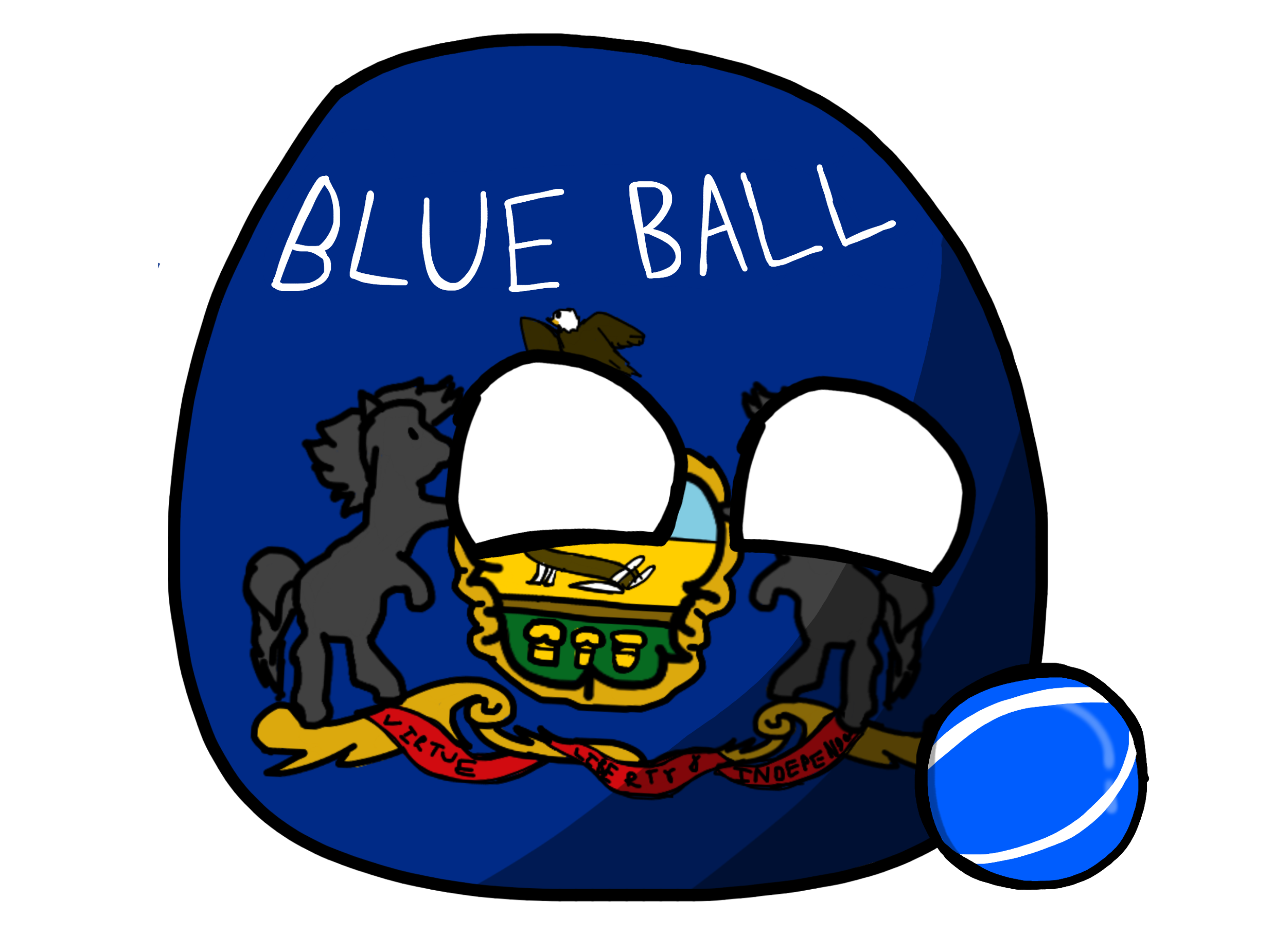 Blue Ballball