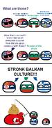 Stronk Balkan Culture