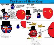 The story of hong kong