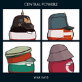 Central Powerz - War Days by MappingHub