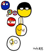 Italy in 1835 - PBMC