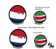 Suriname's relevance
