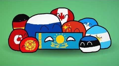 Kazakhbrick's Anthem (Countryball Animation Borat Anthem )