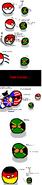 Polandball komiks PNG