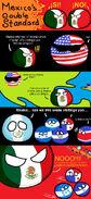 Mexico US Guatemala Nicaragua Honduras Panama Costa Rica El Salvador - Come On Mexico