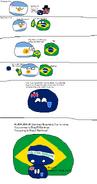 Falklands comes to Brazil