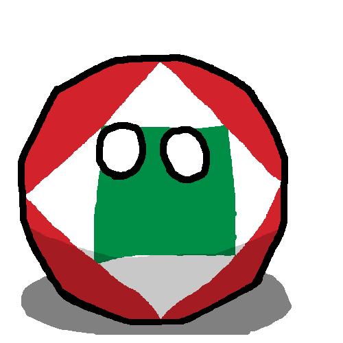 Napoleonic Italian Republicball