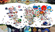 Official Polandball World Map 2020
