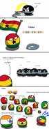 Ghana can into independence