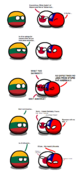 Lithuania and asians