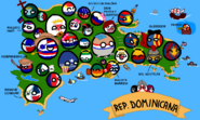 Mapa de Dominicanaball