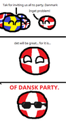 OF DANSK PARTY