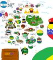 Polandball Map of Colombia by SebasV96