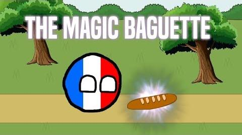 The Magic Baguette Countryball Animation