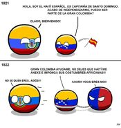 Haiti español depend