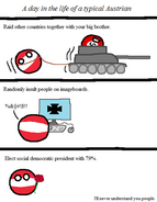 A day in the life of a typical Austrian