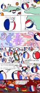 France polandball