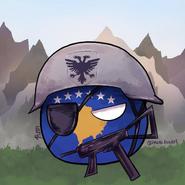 Kosovo by imakefanart