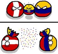 Colômbia - Equador - Peru