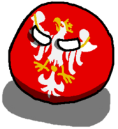 Kingdom of Polandball-ball version