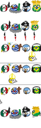 México - Uruguay - Argentina - Brasil - Vaticano