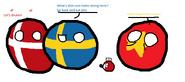 Denmark, Sweden and Vietnam